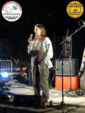 claudia sterzi @ festival antiproibizionista, colognola ai colli 6 maggio 2011